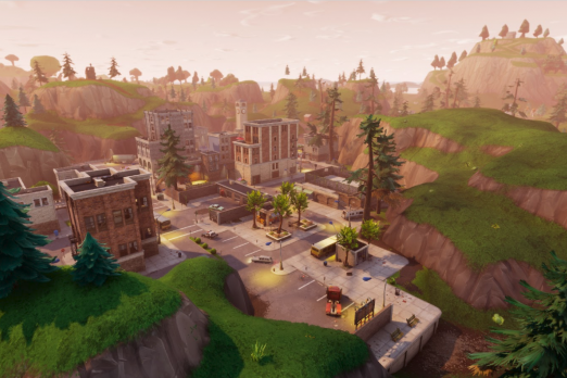 Fortnite new city
