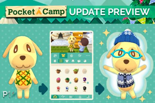Animal Crossing Pocket Camp Update Preview