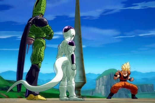 Dragon Ball Fighterz Frieza Cell Goku