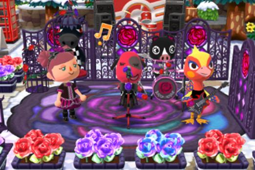 Gothic Rose Garden animal crossing pocket camp