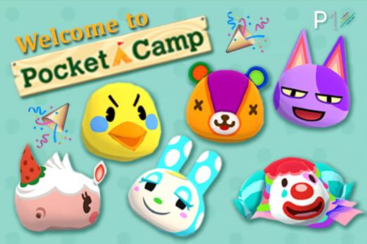 New Villagers animal crossing pocket camp hip update