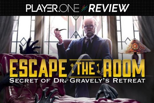 Escape The Room Secret Of Dr Gravelys Retreat Provides Creepy