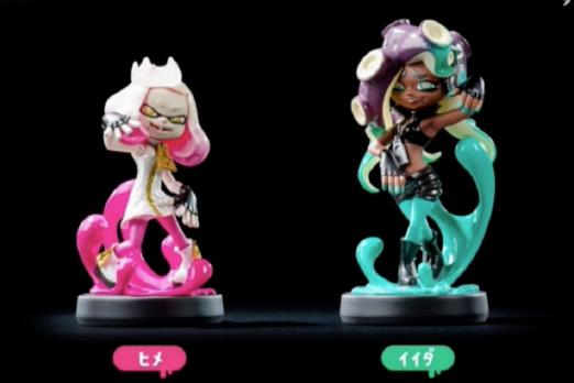 Splatoon 2's Pearl and Marina are getting amiibo figures