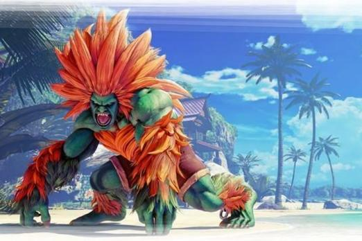 Blanka bringing electrifying fighting style to Street Fighter V next week