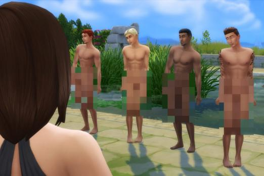 sims 4 censored