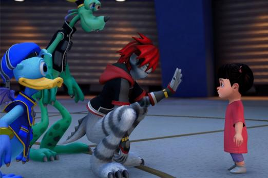 Here's a Bunch of Kingdom Hearts 3 Screens from D23