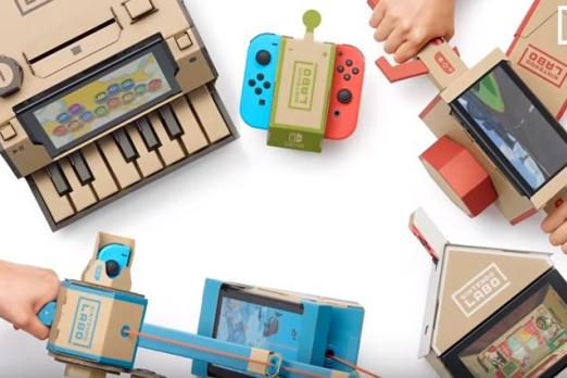Nintendo Labo lets you see through the Joy-Con's hidden camera