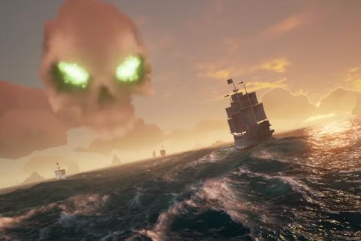 Sea of Thieves Gets a New Trailer Showing Skeleton Forts