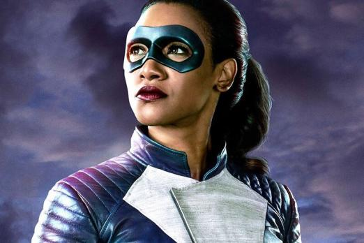 First official look at Iris West suited up on The Flash