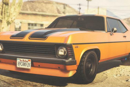 find 4 muscle cars gta 5