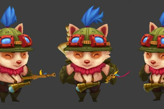 League Of Legends Champion Teemo Has Abilities Upgraded On