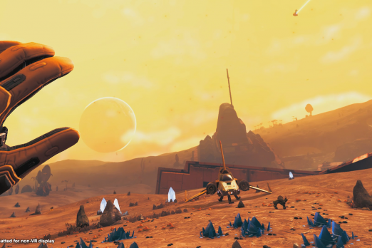 No Man's Sky VR Hands-On Preview: Let's Get Lost In The Stars