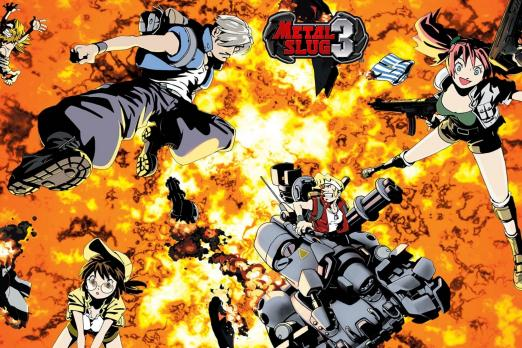 New Metal Slug Game Reportedly In Development Alongside Neo Geo Versions 2 And 3 Player One