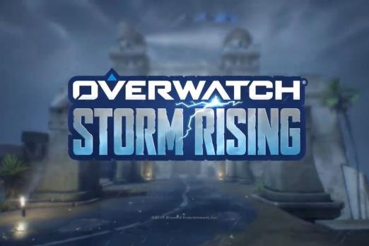 Overwatch Storm Rising Poster