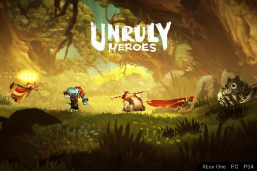 Unruly Heroes Gets May 28 Release Date For The PlayStation 4
