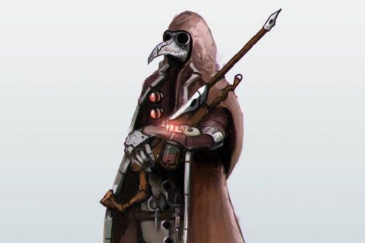 Overwatch Ana Plague Doctor