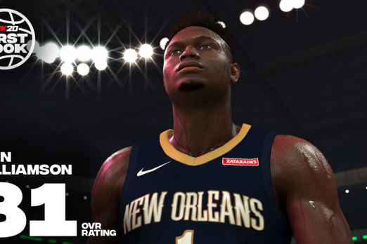 sports shoes 428ee 68a25 NBA 2K Inks Multiyear Deal With Number One Draft Pick Zion ...