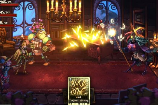 SteamWorld Quest: Hand Of Gilgamech Adds New Game Plus Mode With