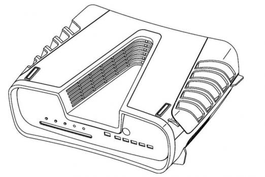 PS5 Design Patent