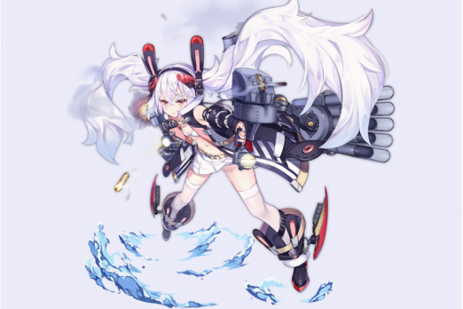 Azur Lane Laffey Retro