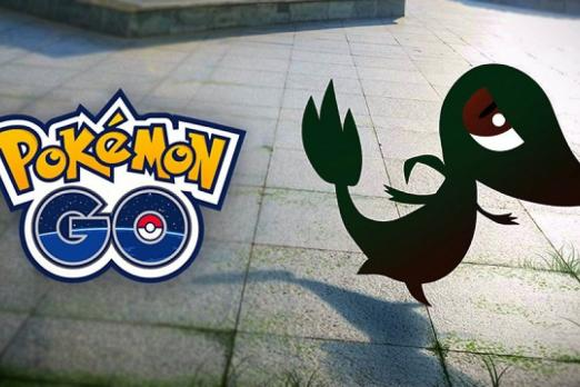 Niantic Teases Pokemon GO Gen 5 With Snivy Silhouette