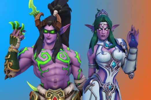 Two Overwatch Heroes Confirmed To Get WOW Skins