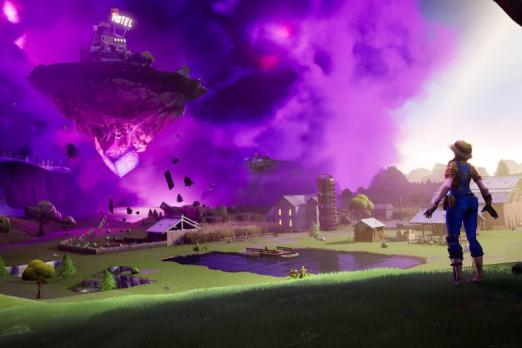 Asteroid Causes Fortnite To Go Offline