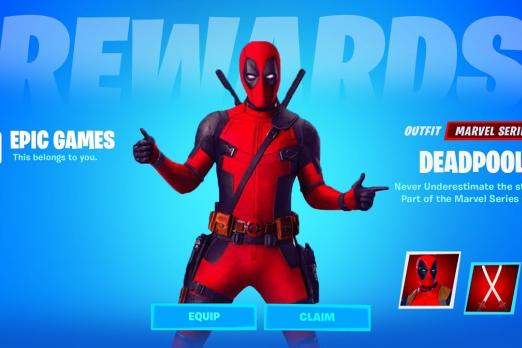 Deadpool Fortnite