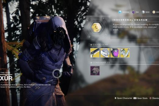Destiny 2: Xur Location, Weapons, And Armor For The Week Of August 14