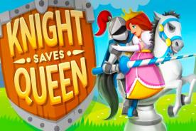 knight saves queen chess puzzle game ios mobile android review