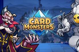 card monsters review iOS android card battler game strategy ccg