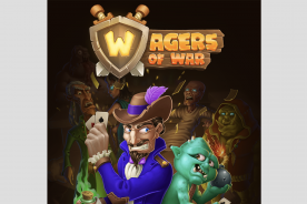 wagers of war review iOS card battler war game casual games