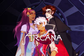 arcana visual novel kickstarter mobile game