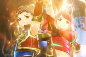 xenoblade chronicles 2 rex pyra cut scene