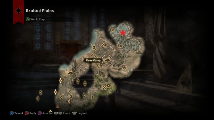 Dragon age inquisition where to find all ten dragons roaming dragon age inquisition exalted plains dragons location freerunsca Image collections