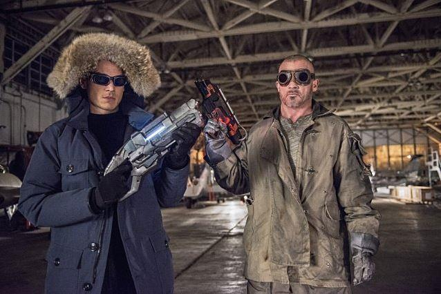 Captain Cold and Heatwave The Flash