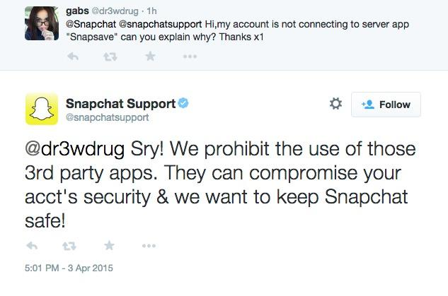 SnapChat Apps Not Working, Pictures Won't Upload? Company Blocks Access To 3rd-Party To Increase Security