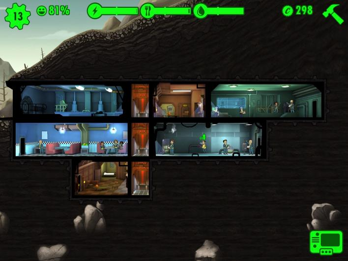 fallout shelter vault layout tips tricks assigning dwellers merging rooms special characters get more water rid radiation