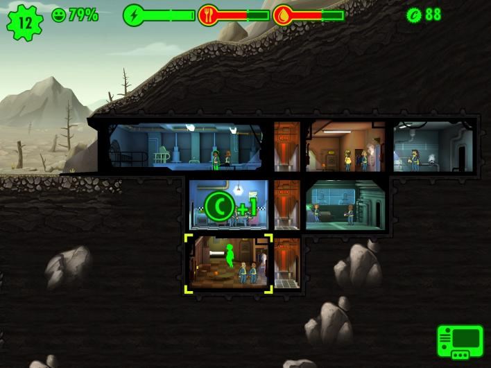 fallout shelter vault layout tips tricks assigning dwellers rooms specials get more water rid radiation pregnancy