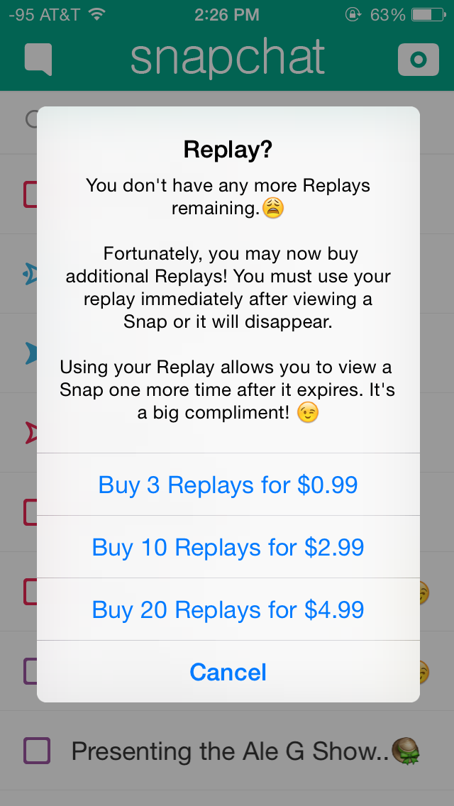 Snapchat Replay, New Filters: How To Use In-App Purchases | Player One