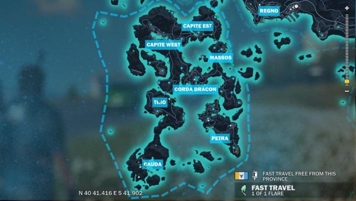 carte just cause 3 Just Cause 3 Base Locations: Where To Find Every Settlement That