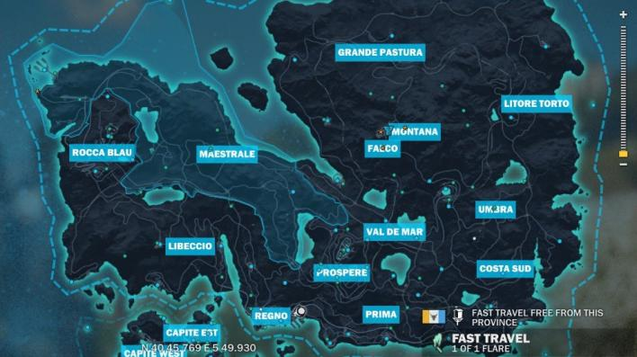Mapa Just Cause 3.Just Cause 3 Base Locations Where To Find Every Settlement