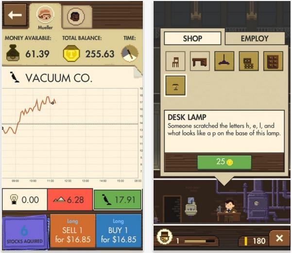 little traders ios game teaches investing investment game tradimo Sebastian Kuhnert best new iphone games