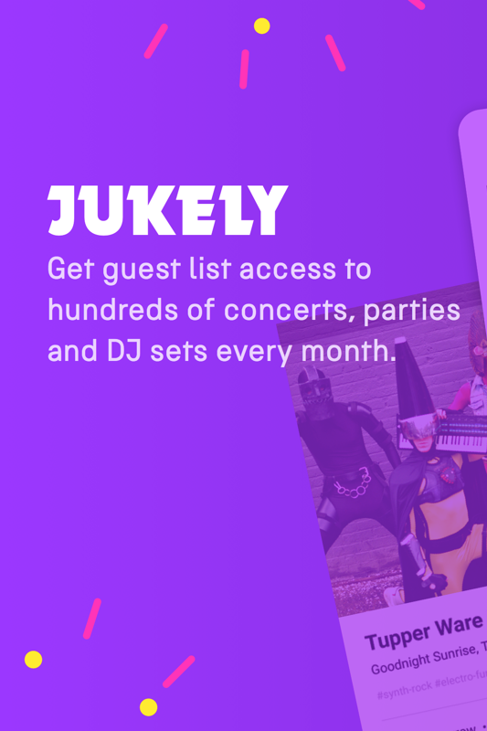 Jukely launches android app concert subscription service for Style at home subscription deal