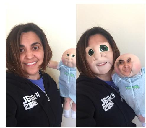 how to do face swap on snapchat new lens brings face swapping