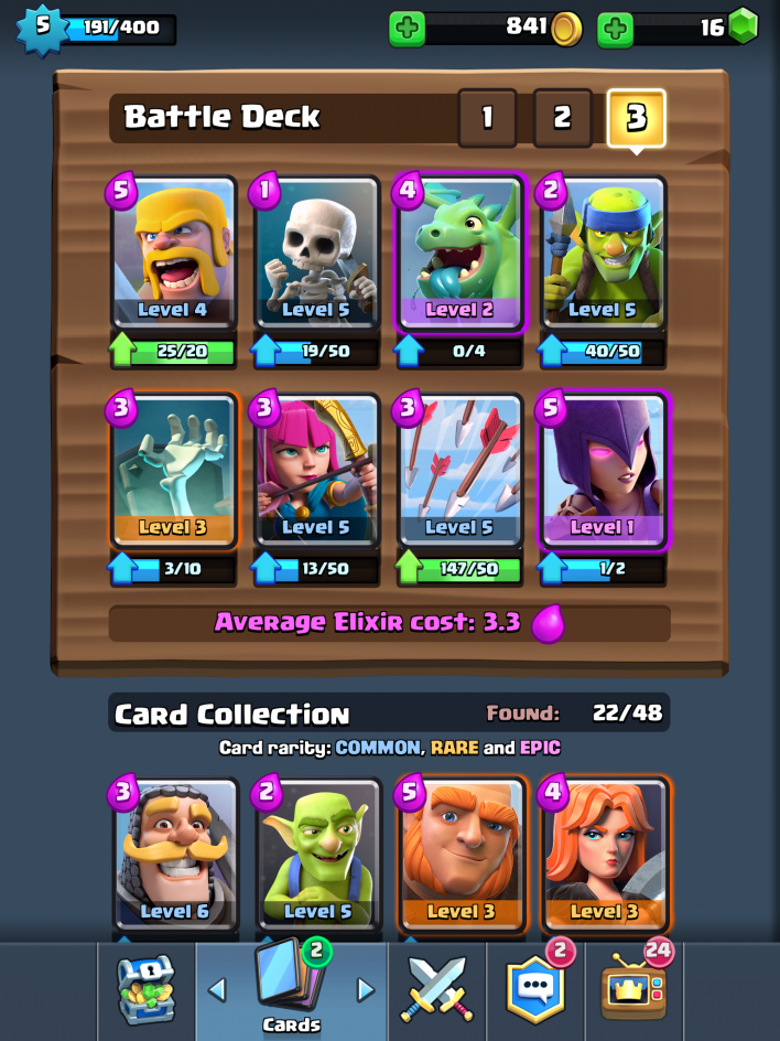 best clash royale decks 3 decks for winning arenas 2 3 4 and