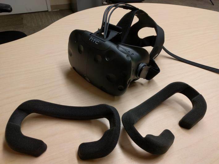 HTC Vive and face pads