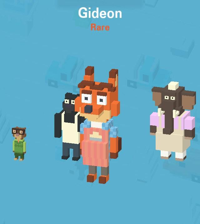 Crossy Road Secret Characters