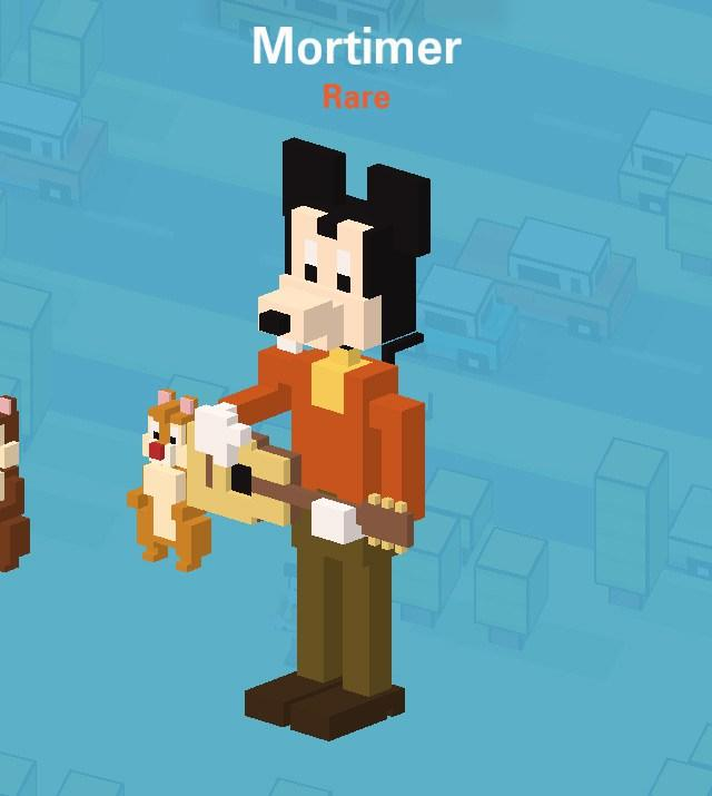 disney crossy road secret mystery characters unlock where to find tips cheats hack tricks how to mortimer