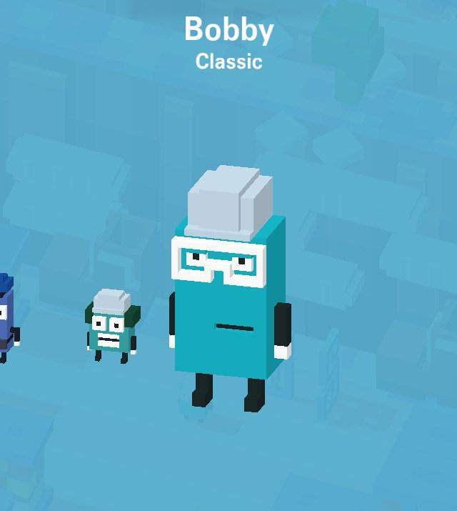 disney crossy road secret mystery characters unlock where to find tips cheats hack tricks how to game ios android Bobby inside out